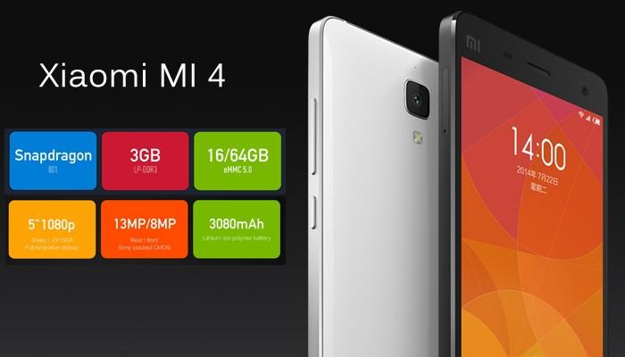 Xiaomi Mi4 features