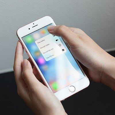 apple iphone 6s dan 6s plus 3d touch