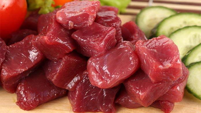 beli daging mentah