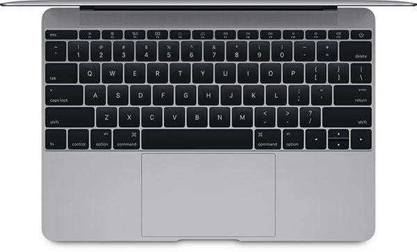 macbook 12-inci (2015) keyboard