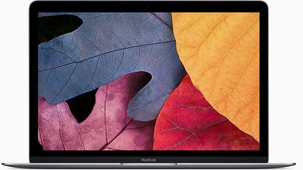macbook 12-inci (2015) skrin