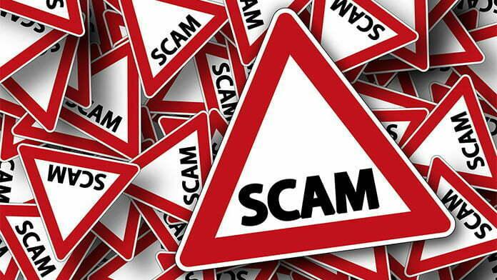 menghindari scam