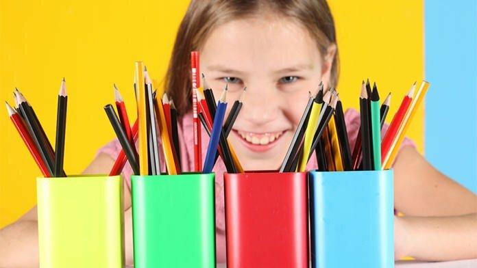 jimat perbelanjaan peralatan sekolah anak