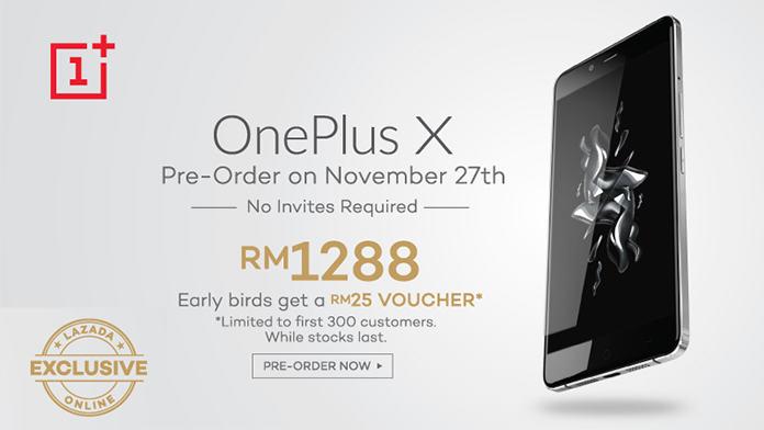 reviu OnePlus X Lazada Malaysia