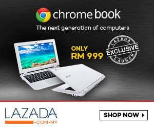 beli chromebook di Lazada Malaysia