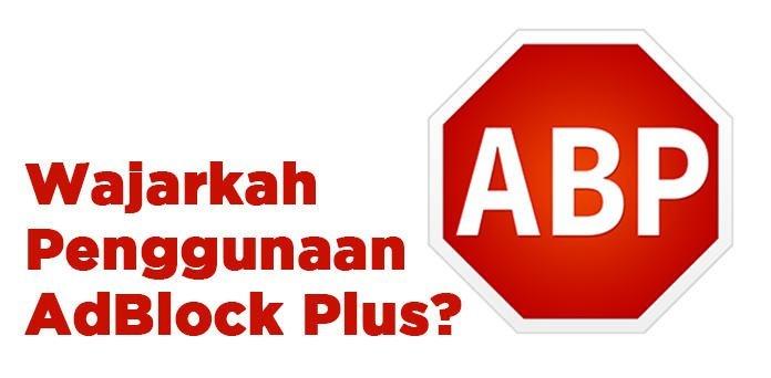 wajarkah penggunaan adblock plus