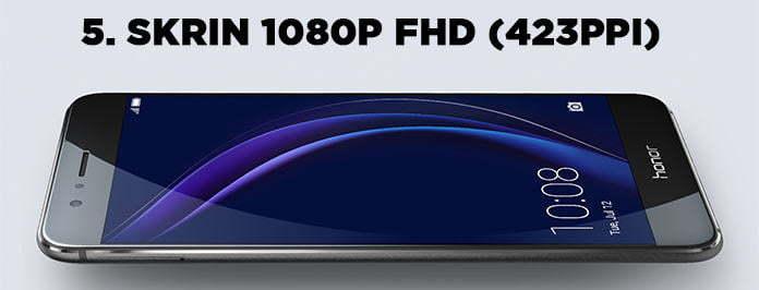 skrin 1080p honor 8