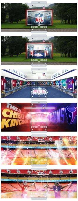 Lensa Portal NFL Kickoff